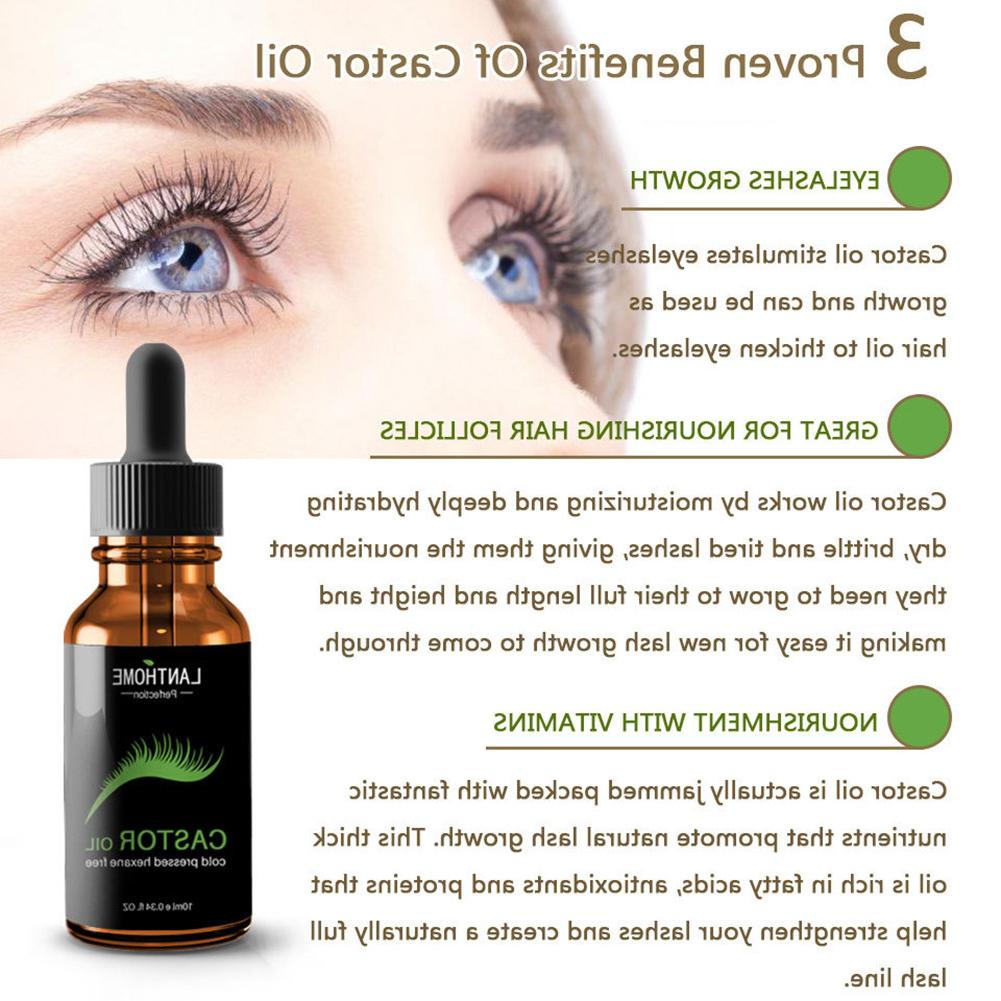 Eyelash Essential Nourish Hair Essential <font><b>Oil</b></font> Natural <font><b>Castor</b></font> <font><b>Oil</b></font> Prevent Skin Aging Organic Essential <font><b>Oil</b></font>