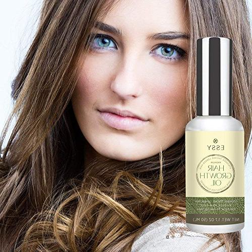 Natural Growth with Caffeine and Biotin - Hair for Thicker, Hair