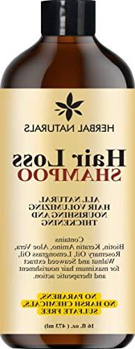 Hair Loss Shampoo - Infused with Biotin, Rosemary Oil, Natur