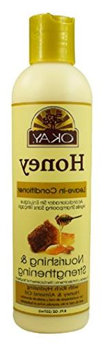 OKAY Honey Nourishing & Strengthening Leave-in Conditioner,