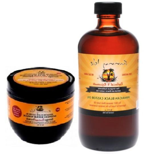 jamaican black castor oil damaged hair repair