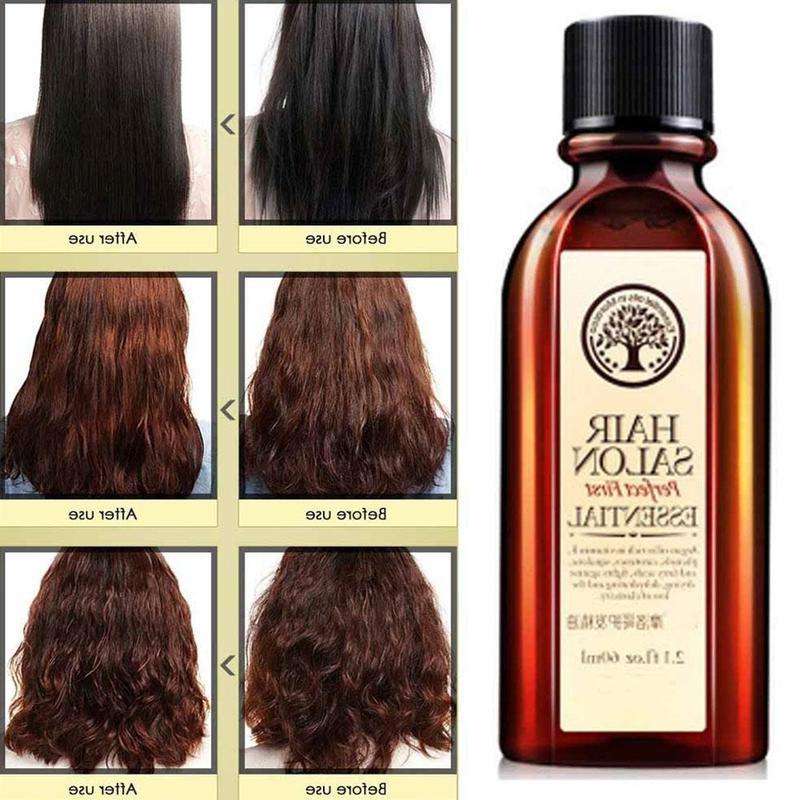 Natural Deep Repair Damaged Split Ends Long Organic Argan