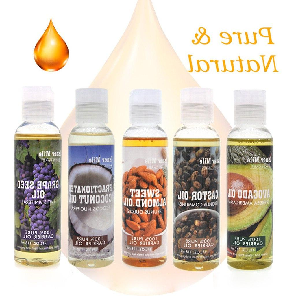 New 100% Essential <font><b>Oil</b></font> 118ML Cold Pressed Hydrating Skin Care Hair Care