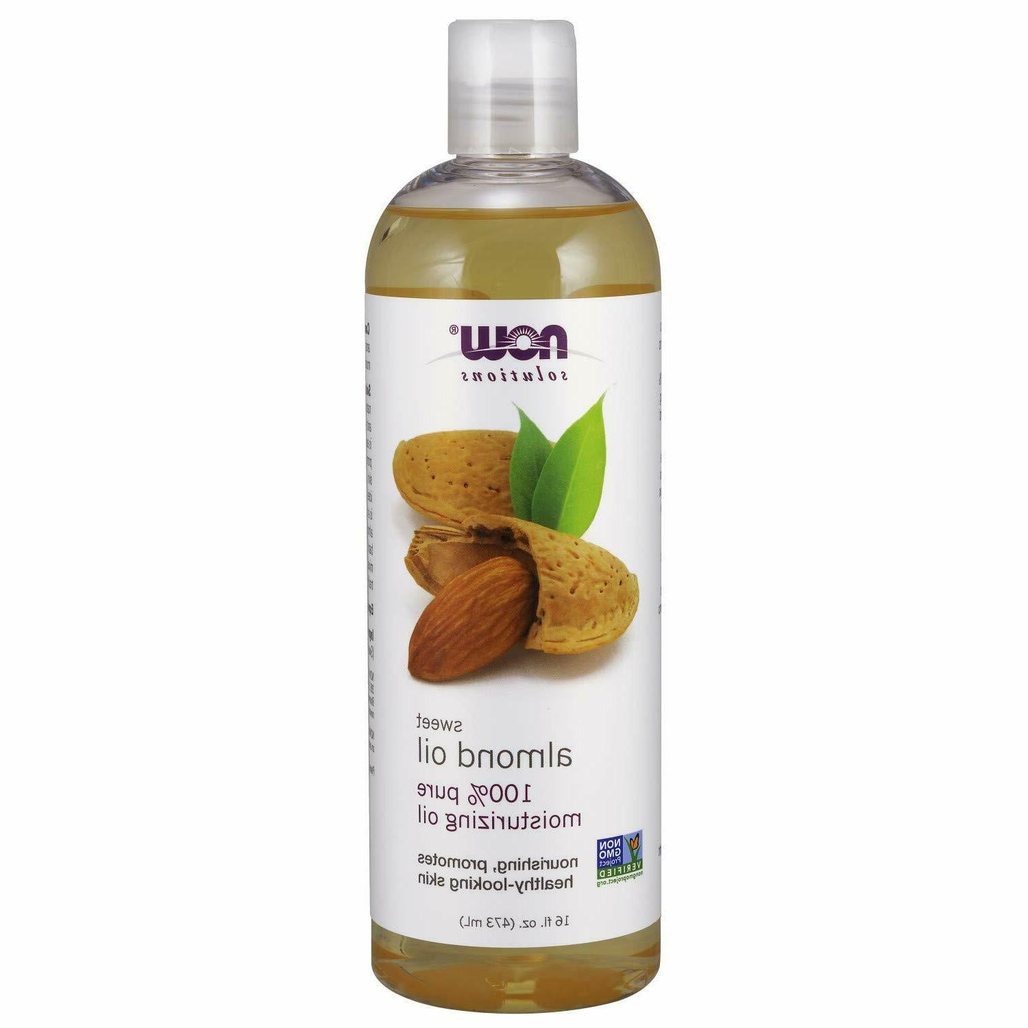now solutions sweet almond oil 100 percent