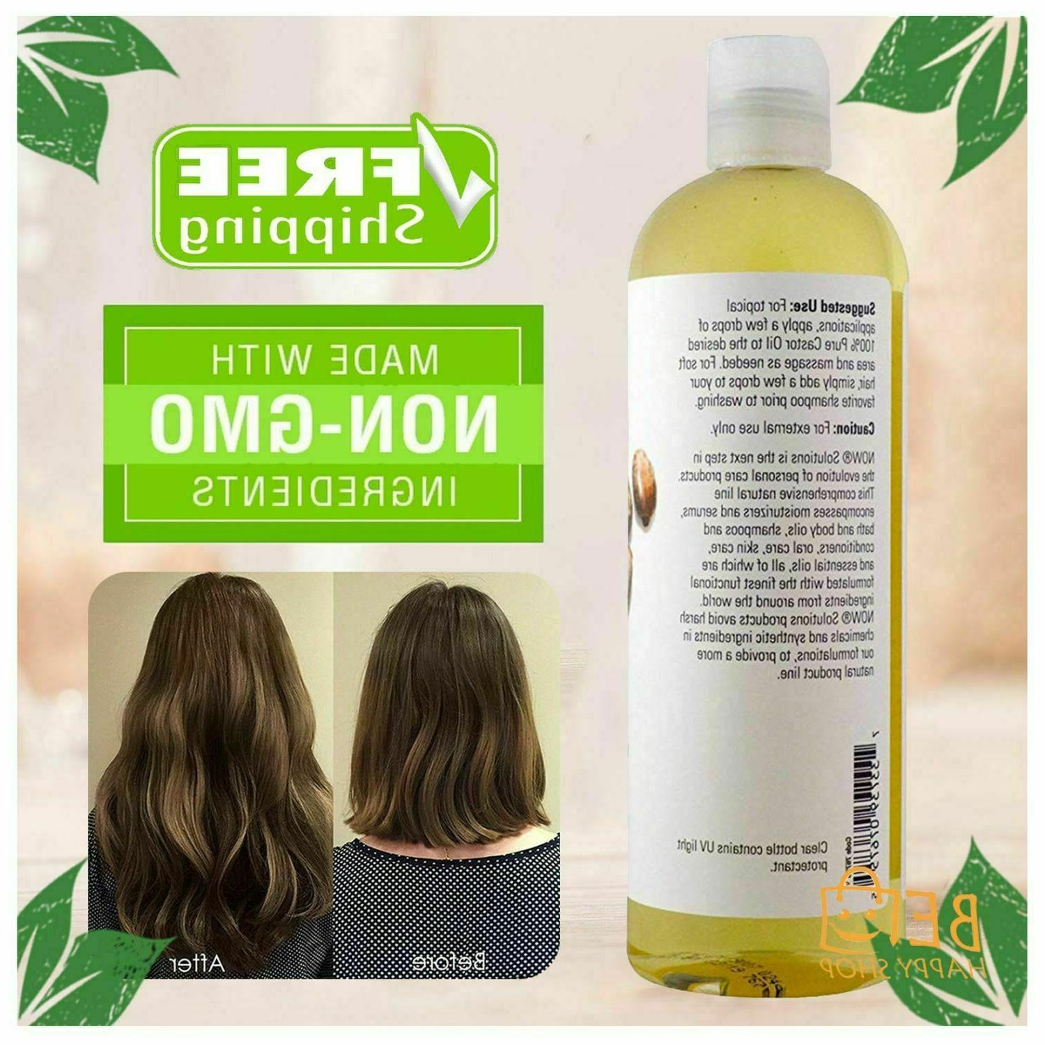 Pure Organic for Eyelashes Growth Face & Care