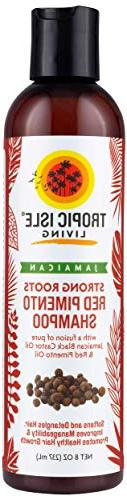 Tropic Isle Living- Strong Roots Shampoo with Red Pimento