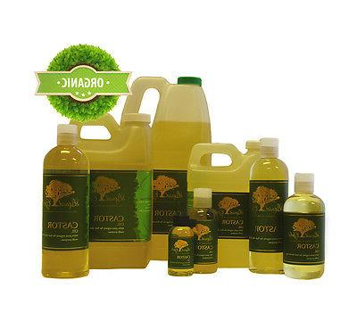 Liquid Gold Castor Oil Pure & Organic for For Skin Hair and