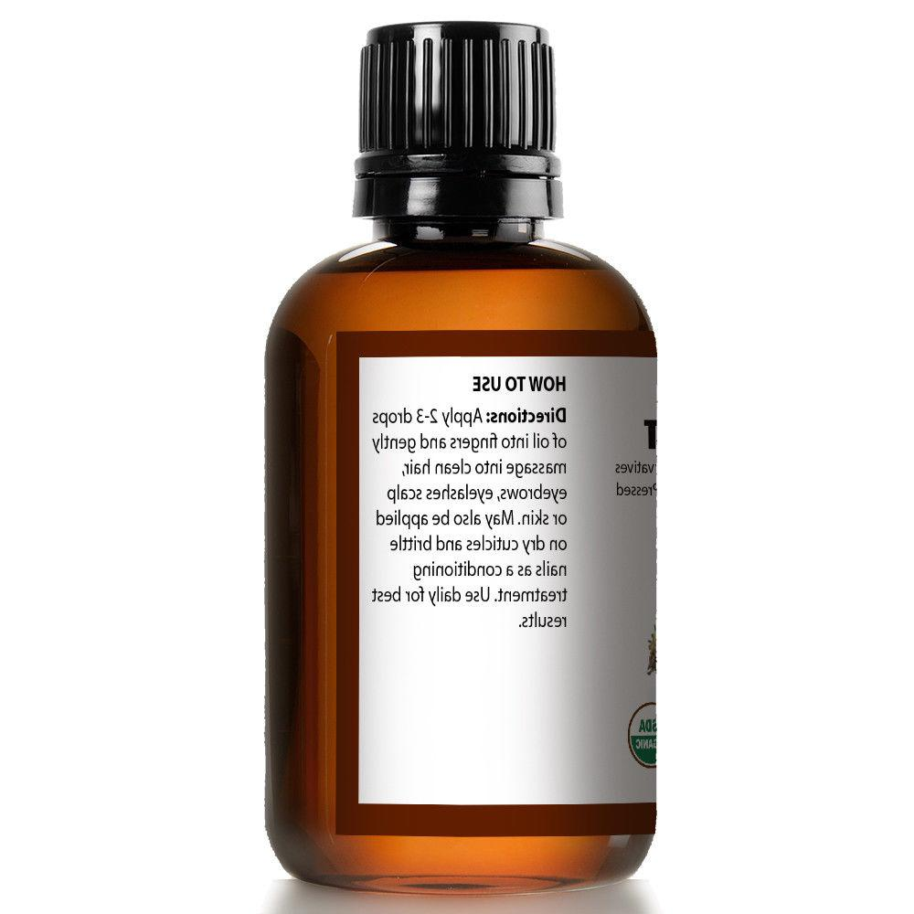 100% USDA Oil for Growth,Skin &
