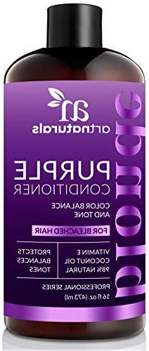 ArtNaturals Purple Conditioner for Blonde Hair –  – Silv