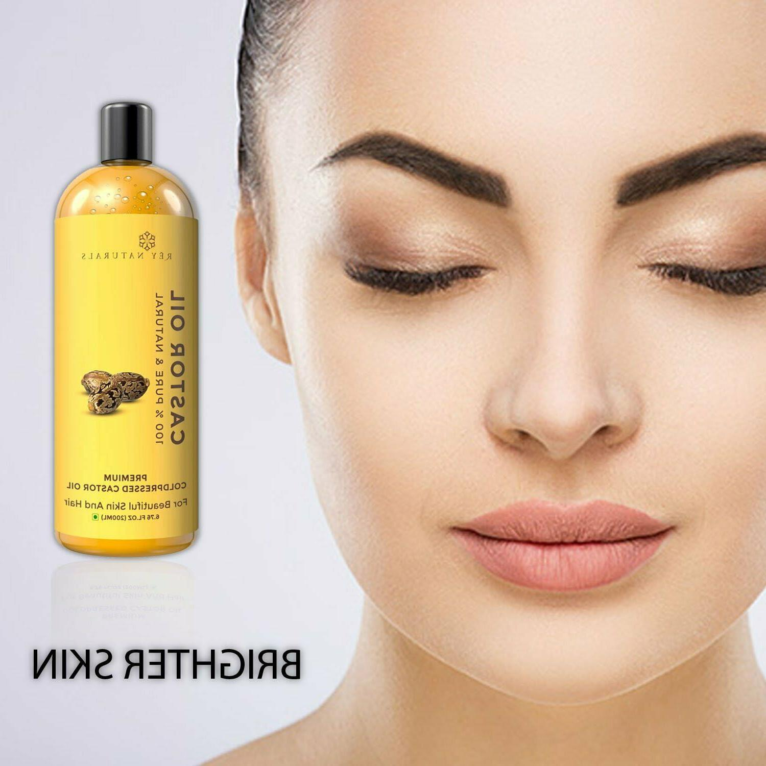 Rey Cold Castor Oil, 200 for and
