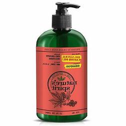 Nature's Spirit Pro-Growth Castor Oil Shampoo 12oz- Hydrates