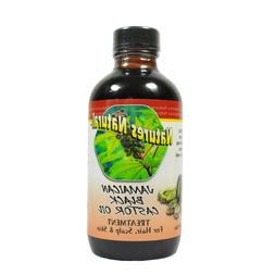 Natures Natural Jamaica Black Castor Oil For Hair, Scalp & S