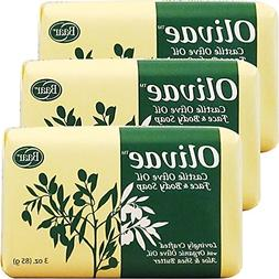 Olivae Castile Bar Soap, 3 Bar Set