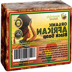 Organic African Black Soap - 5 lb Best for Acne Treatment, E