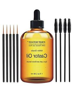 Pure Organic Castor Oil for Eyelashes Hair & Eyebrow Rapid G