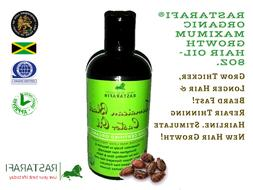 Rastarafi® Pure Jamaican Black Castor Oil 8 Oz Extra Dark |