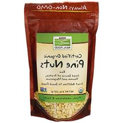 Now Real Food Organic Pine Nuts, 8 oz