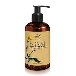 Relief Arnica Massage Oil – Great for Sports & Athletic Th