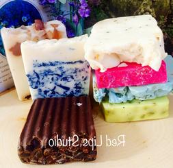 Soaps of the Month-Box of 5 Bars-Gift Box-Surprise Box-Gifts