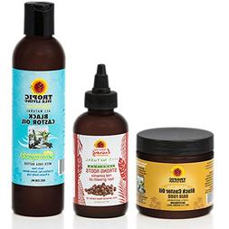 Tropic Isle Living Strong Roots Red Pimento Oil + JBCO Shamp