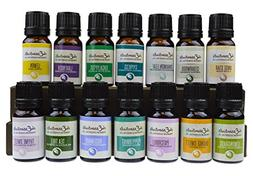 Fabulous Frannie 14-Pack Aromatherapy Starter Gift Set of 10
