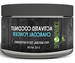 Sky Organics Teeth Whitening Activated Coconut Charcoal Powd