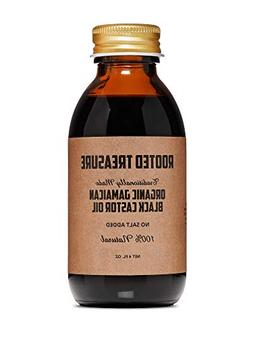 Organic Jamaican Black Castor Oil By Rooted Treasure 4oz: Tr