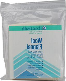 Home Health - Wool Flannel for Use in Castor Oil Packs Large